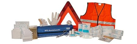 KFZ-Kombitasche / Car First Aid Kit